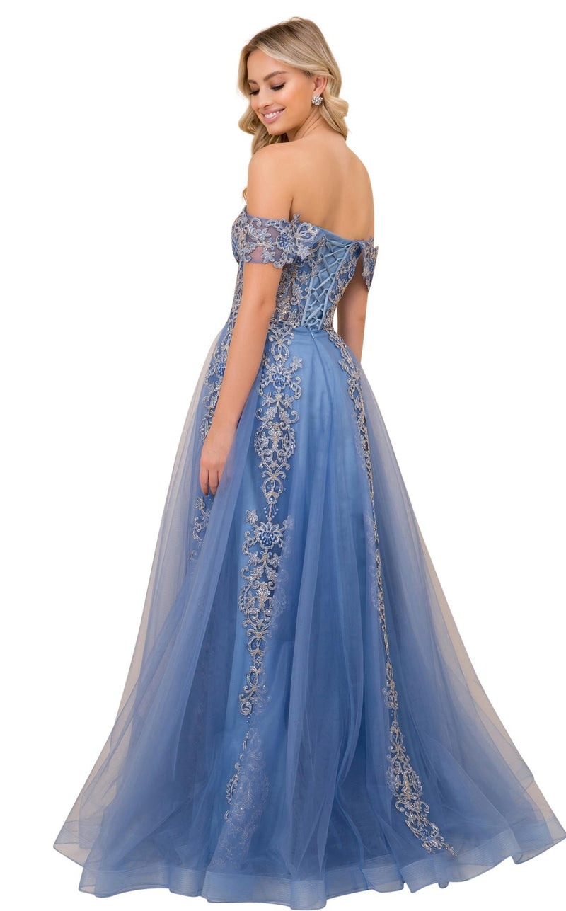 Nox Anabel F336 Dress Cobalt