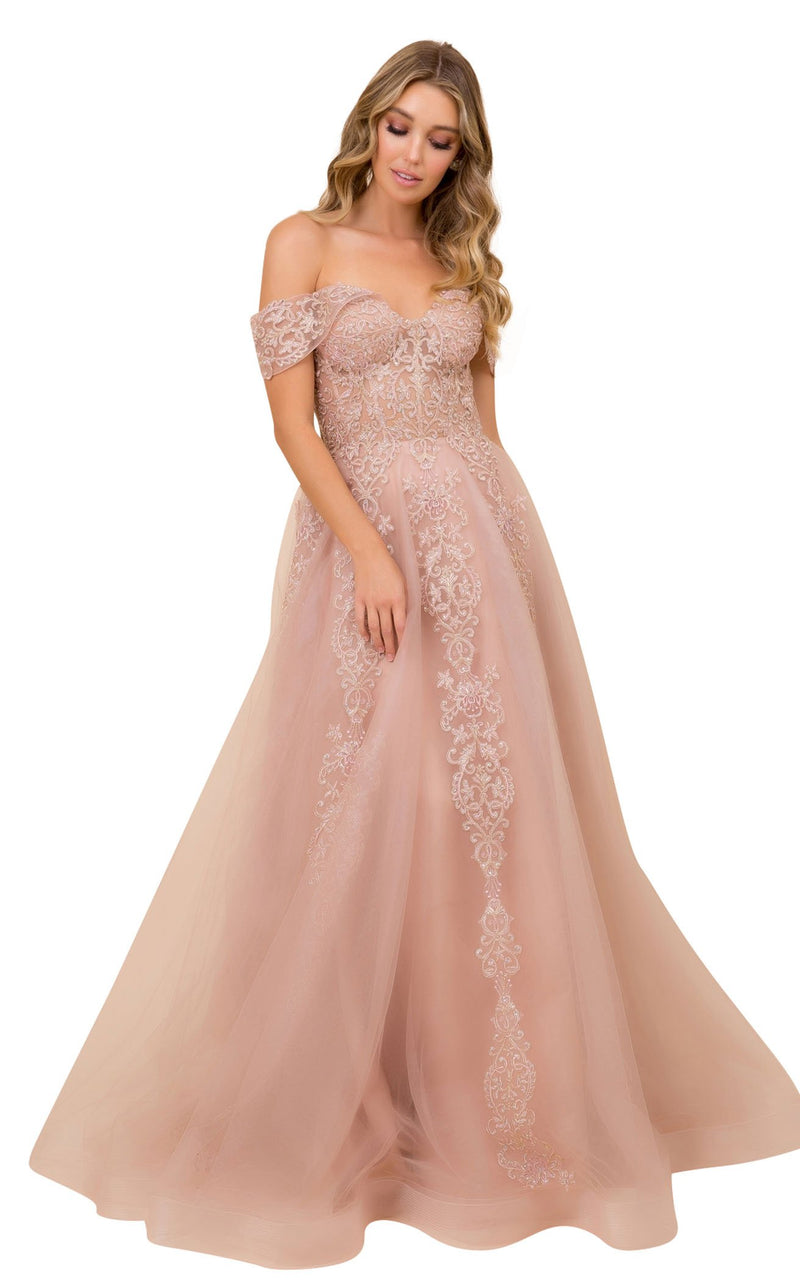Nox Anabel F336 Dress Rose-Gold
