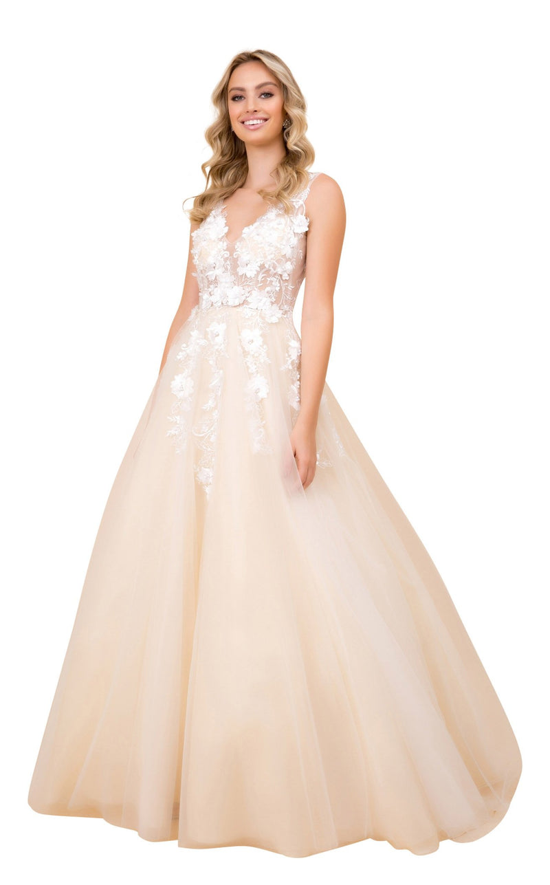 Nox Anabel F339 Dress Champagne