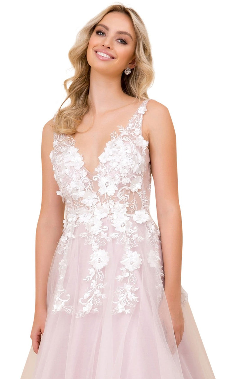 Nox Anabel F339 Dress Light-Mauve