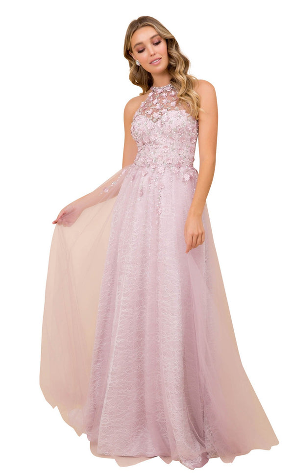 Nox Anabel G380 Dress Dusty-Lilac