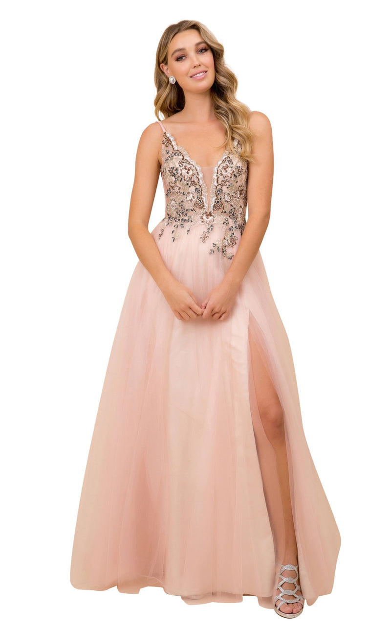 Nox Anabel G382 Dress Blush-Gold