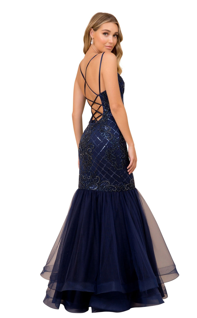 Nox Anabel H399 Dress Navy-Blue