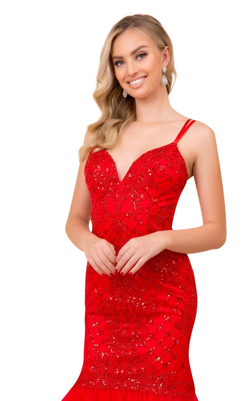 Nox Anabel H399 Dress Red