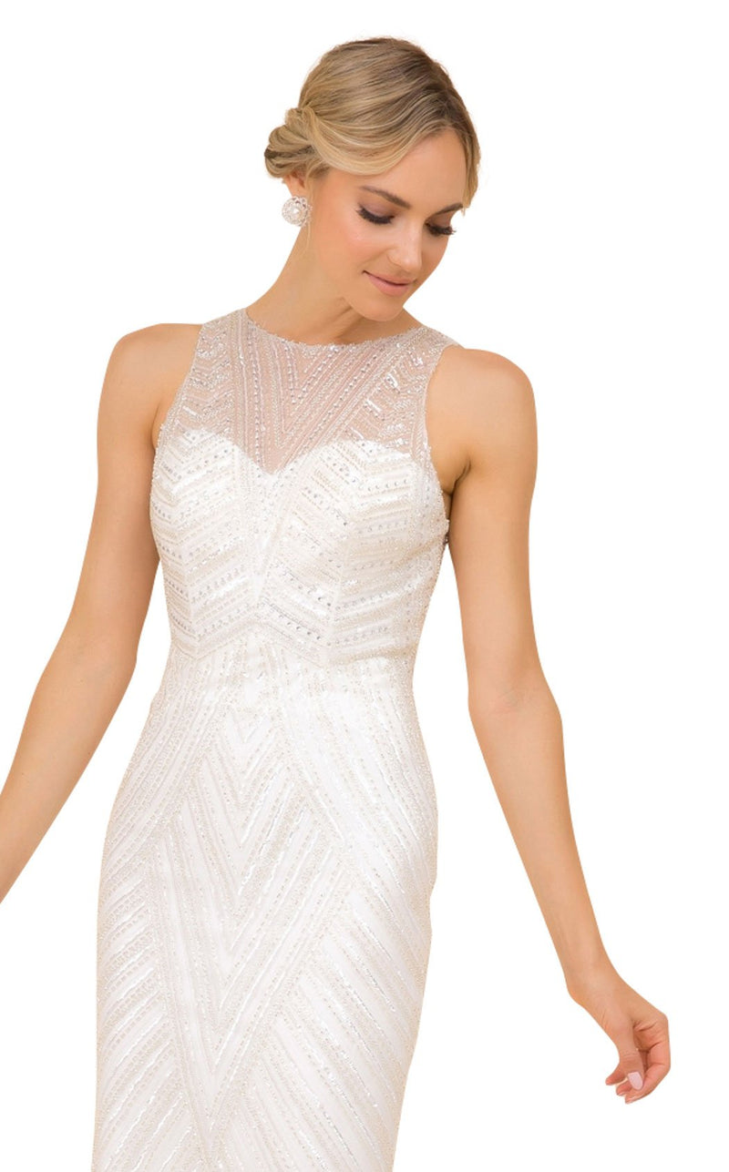 Nox Anabel H404 Dress Off-White