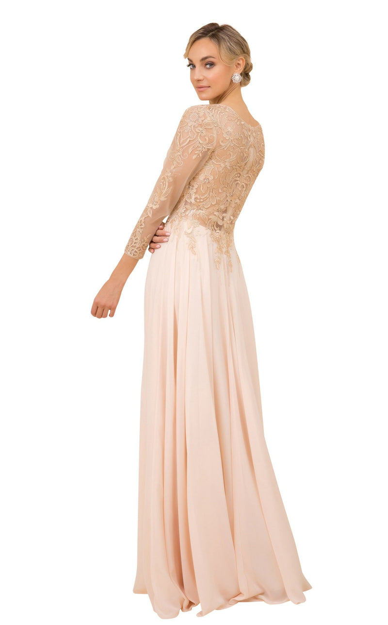 Nox Anabel H529 Dress Gold