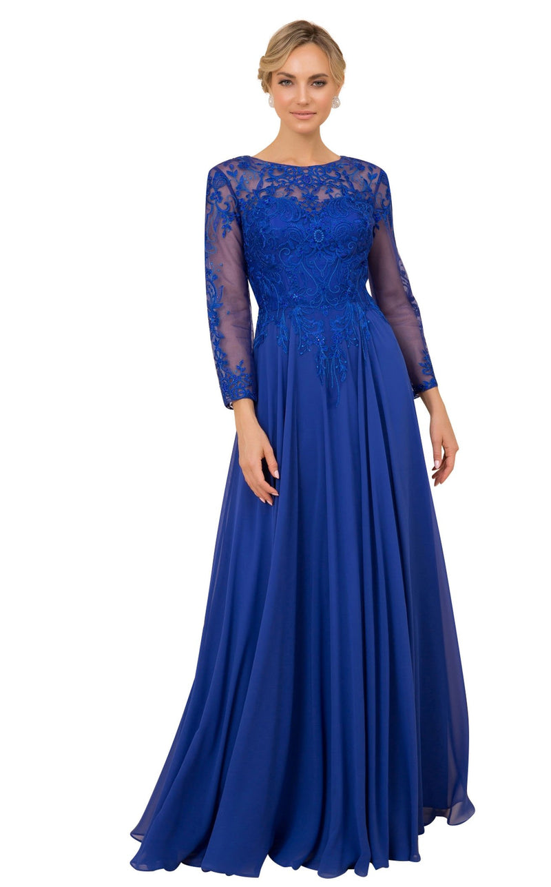 Nox Anabel H529 Dress Royal-Blue