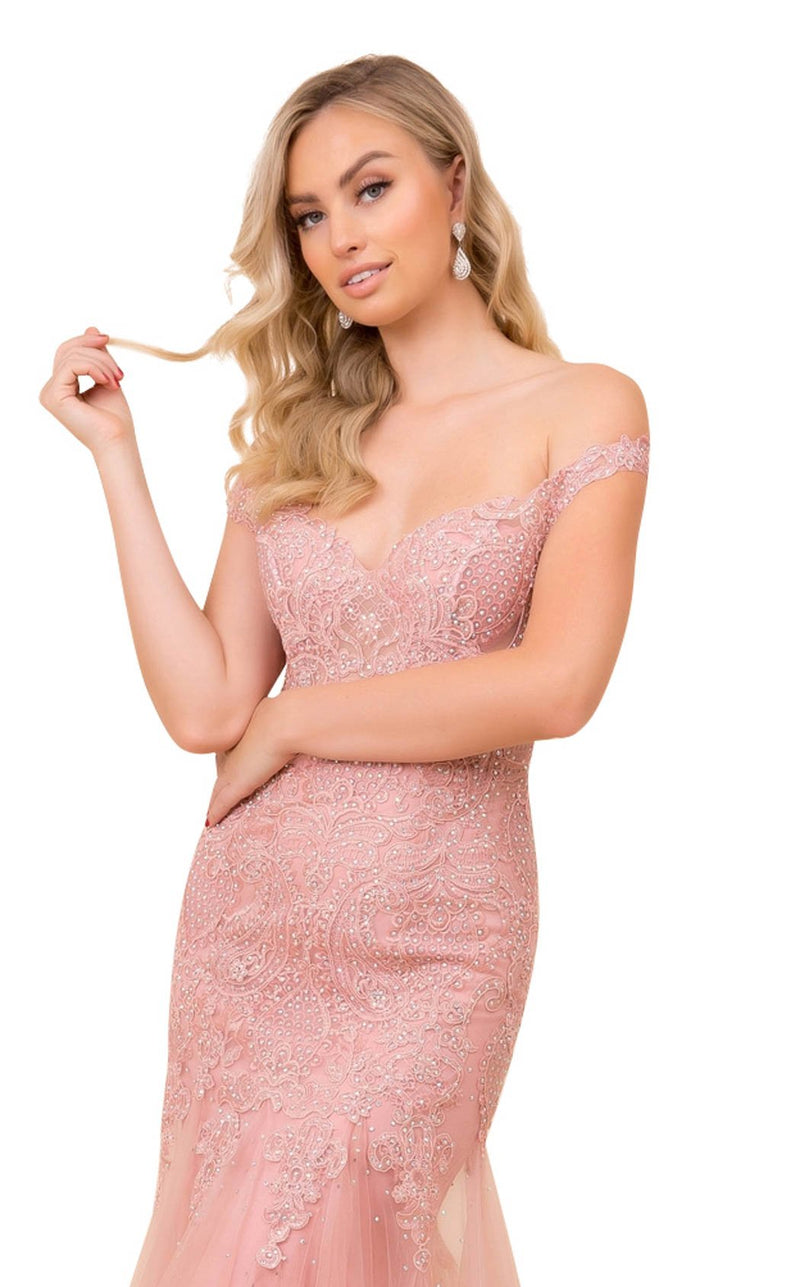 Nox Anabel J325 Dress Rose