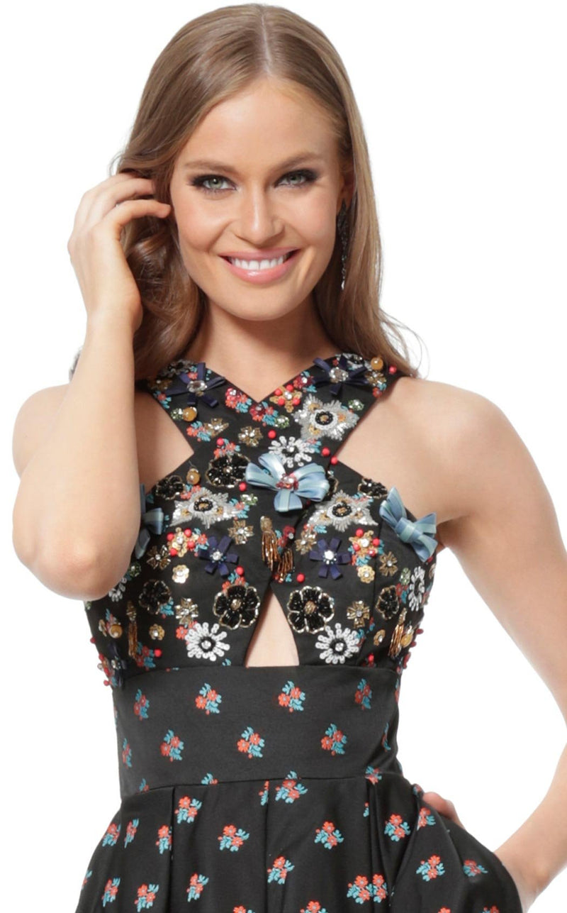 Jovani 57057 Dress Black Multi