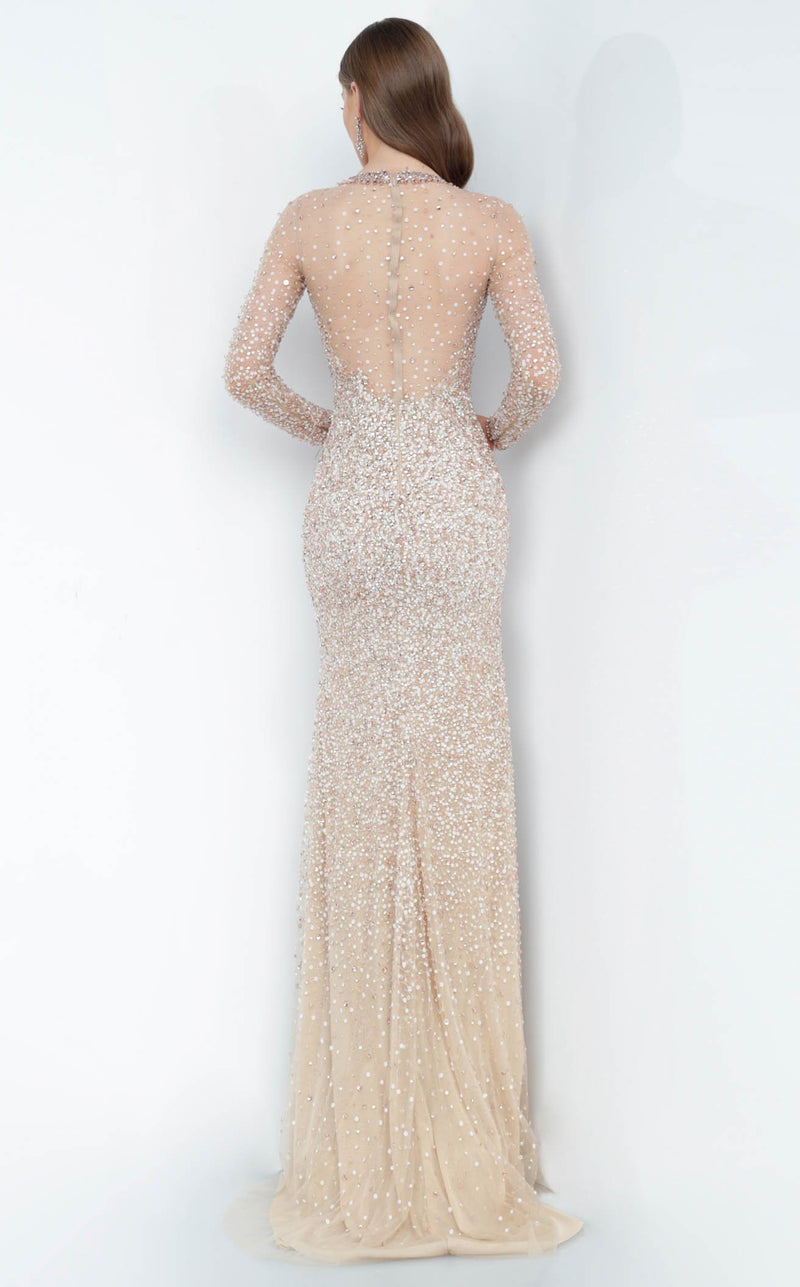 Jovani 59756 Dress Blush Gold
