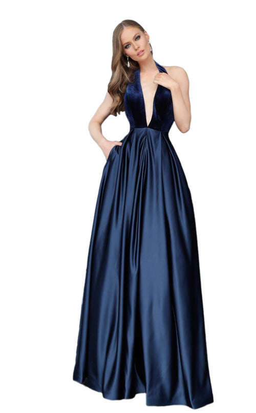 Jovani 61203 Dress Navy