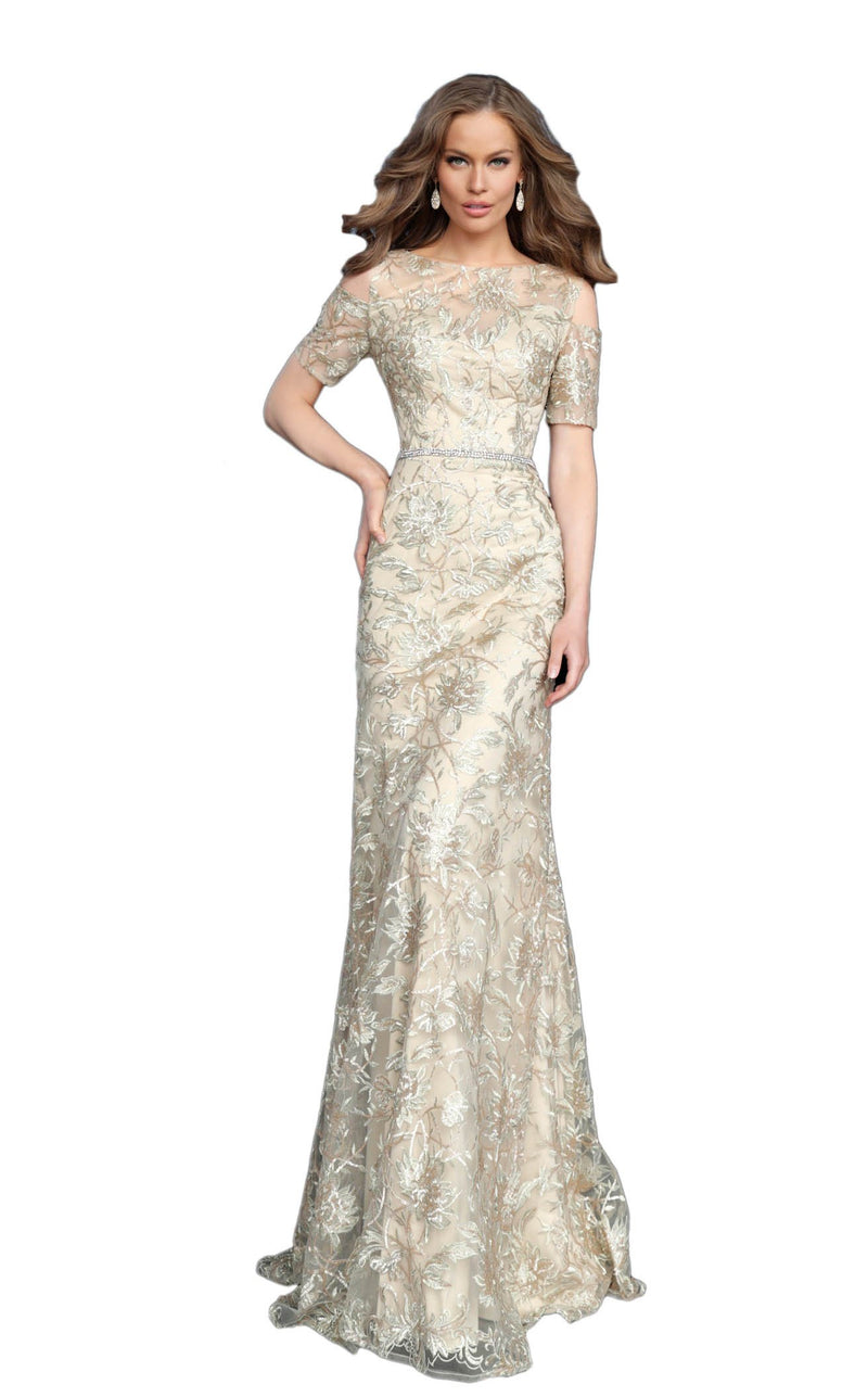 Jovani 63649 Dress Gold
