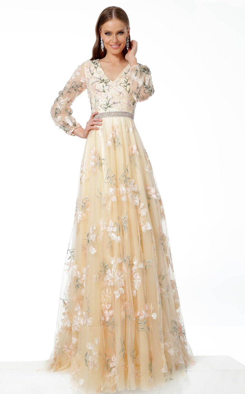 Jovani 65637 Dress Beige
