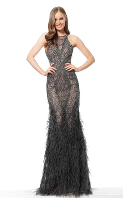 Jovani 65998 Dress Gunmetal