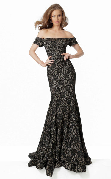 Jovani 66305 Dress Black Gold