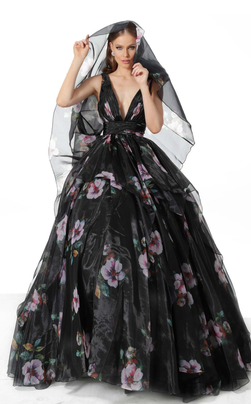 Jovani 67114 Dress Black Print