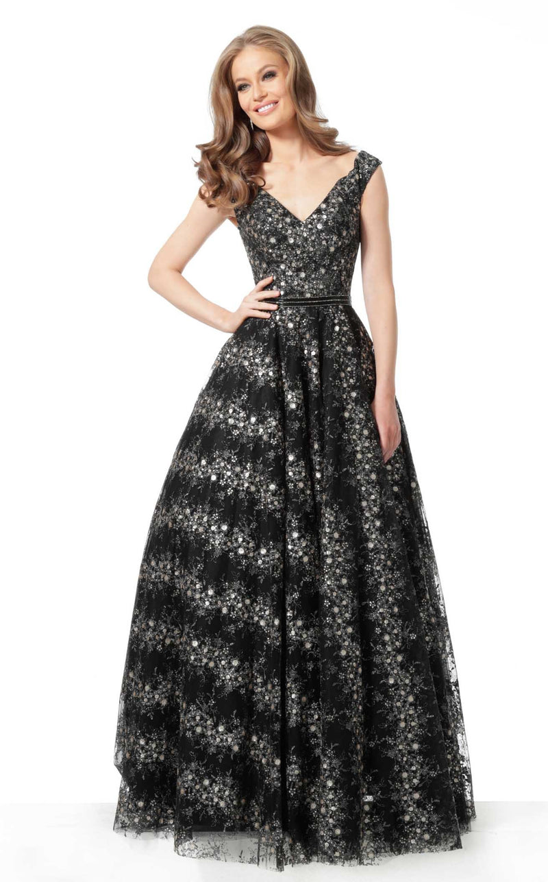 Jovani 68059 Dress Black Grey