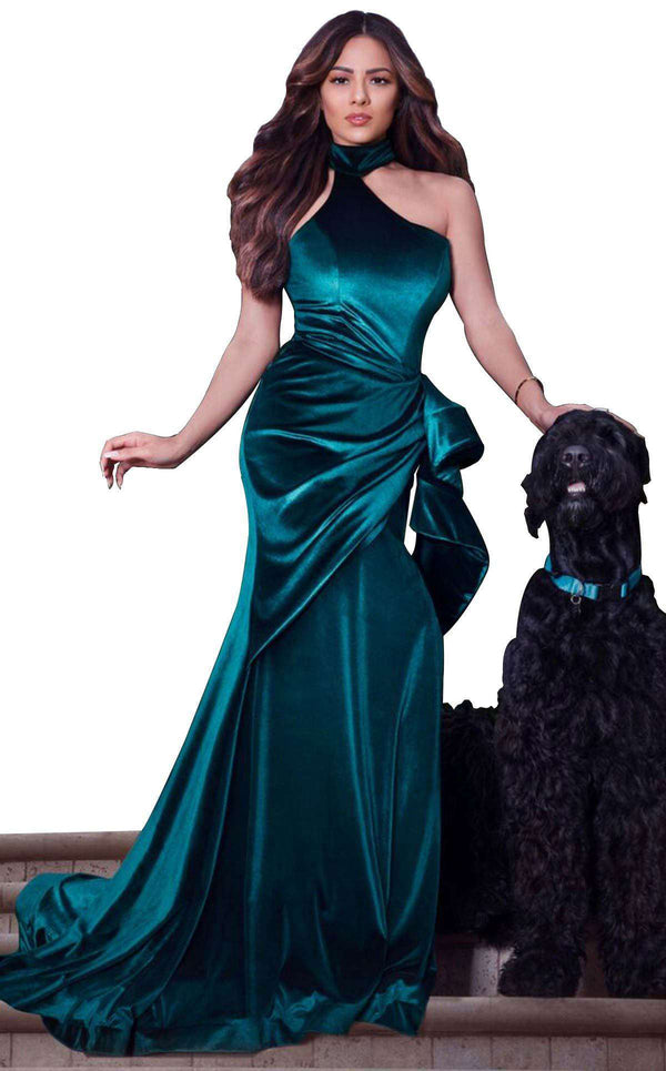 MNM Couture L0038 Dress Green
