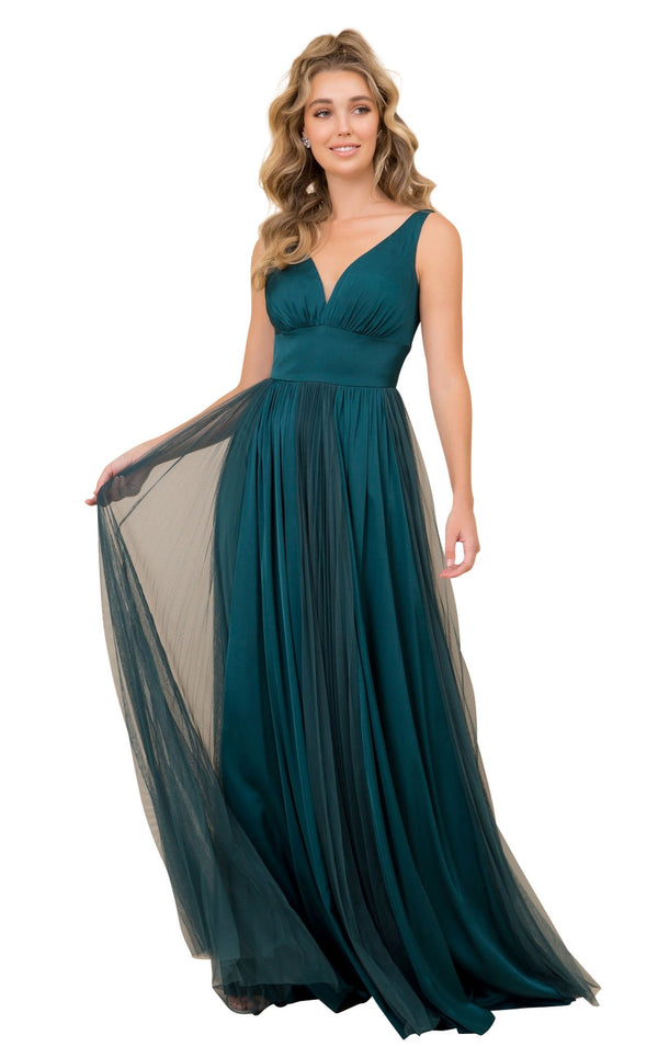 Nox Anabel L340 Dress Forest-Green