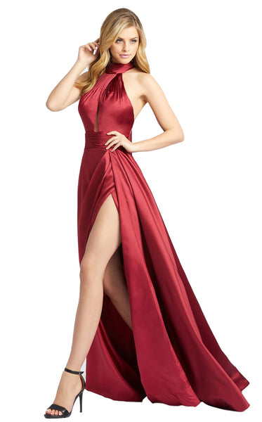 MacDuggal 12089D Dress Burgundy