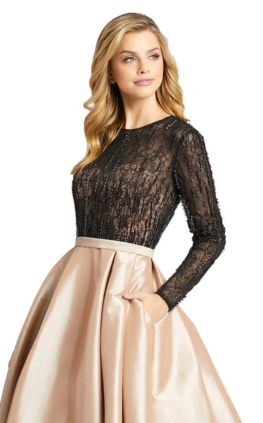 MacDuggal 12121D Dress Nude