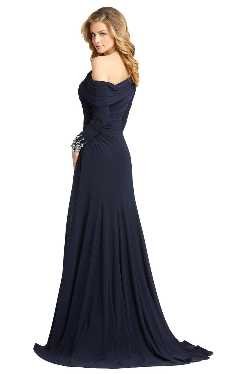 Mac Duggal 12231D Dress Midnight Blue