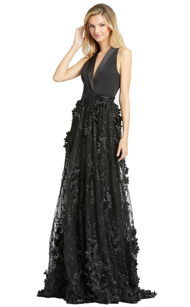Mac Duggal 12264D Dress Black