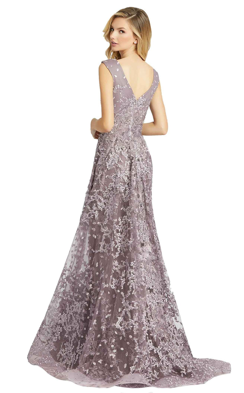 MacDuggal 20099D Dress Smoke Purple
