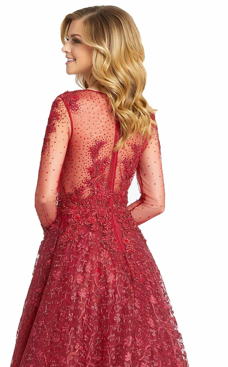 MacDuggal 20100D Dress Burgandy