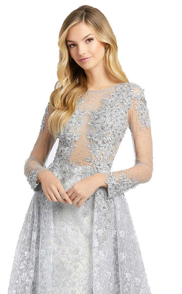 MacDuggal 20100D Dress Platinum