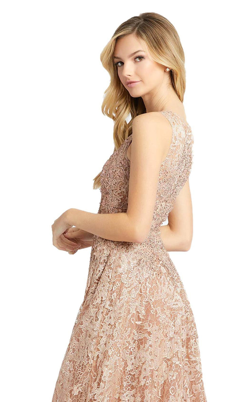 MacDuggal 20112D Dress Rose Gold