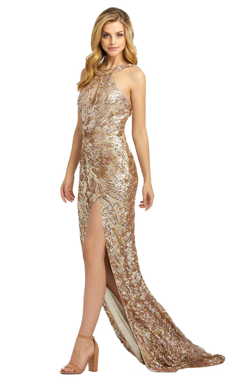 Mac Duggal 3434D Dress Gold