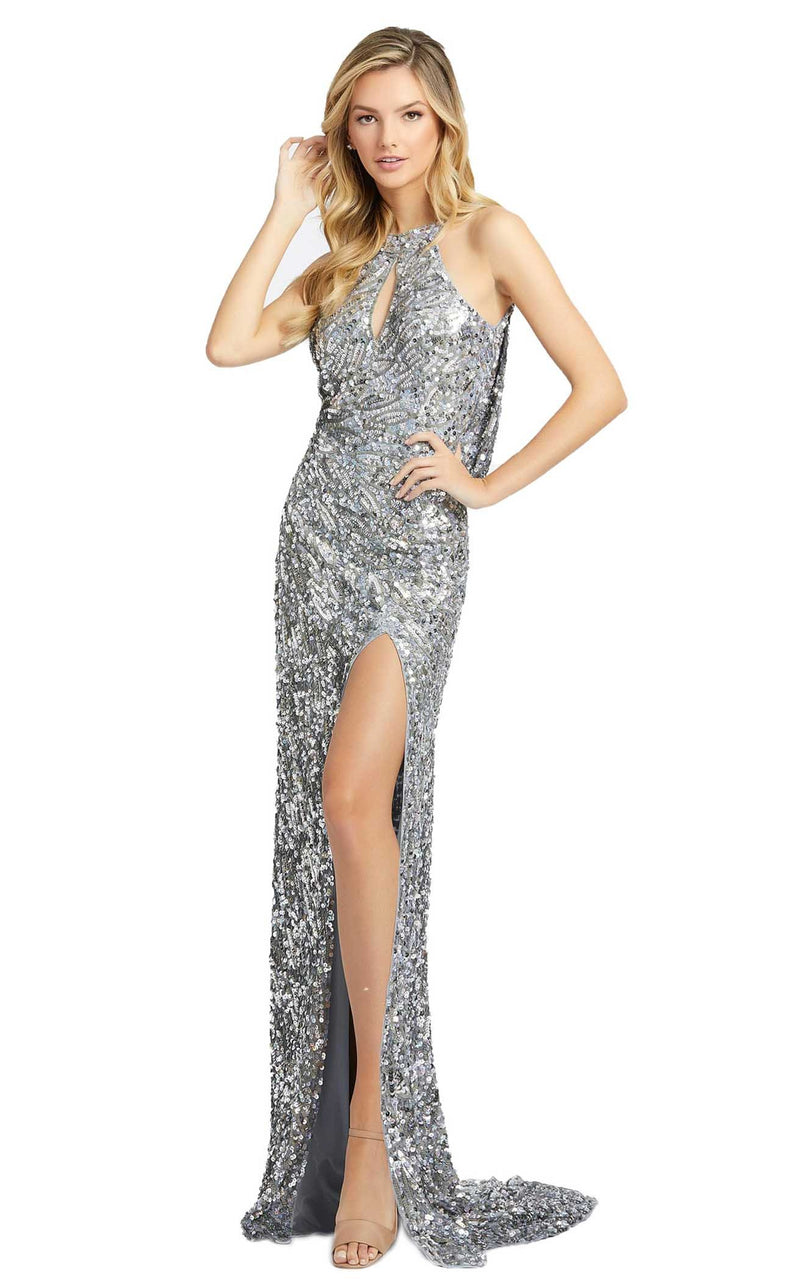 Mac Duggal 3434D Dress Platinum