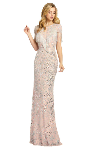 MacDuggal 4715D Dress Platinum