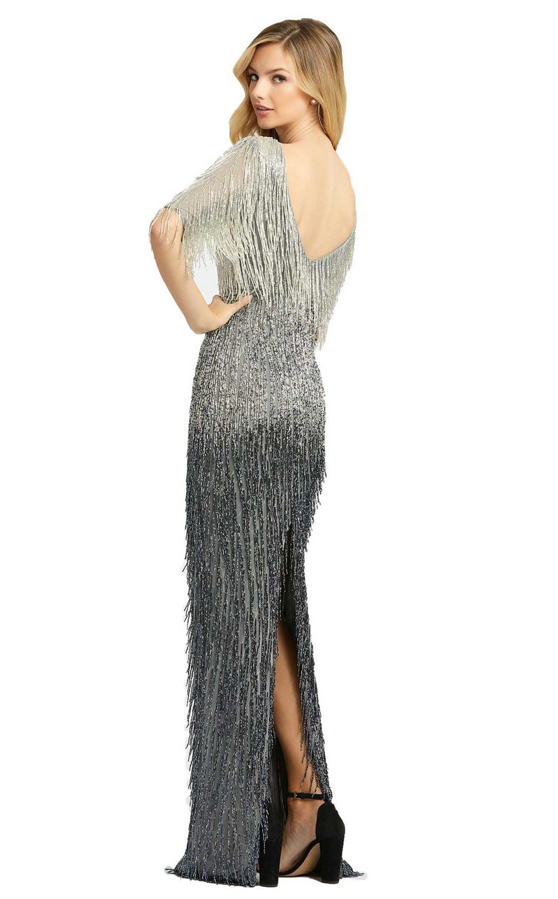 Mac Duggal 4743D Dress Platinum