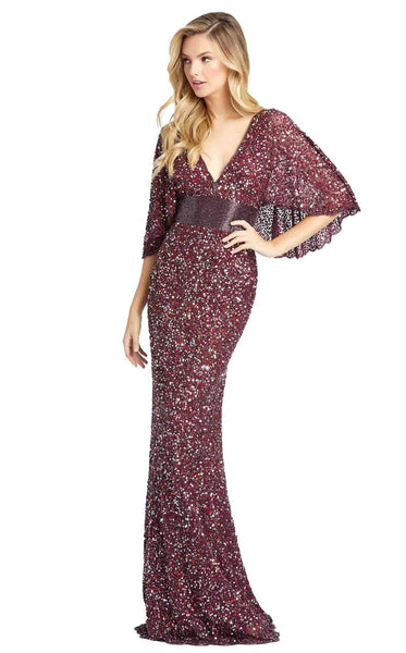 Mac Duggal 4808D Dress Wine