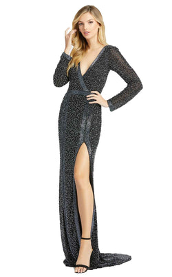 Mac Duggal 4900D Dress Black Pearl
