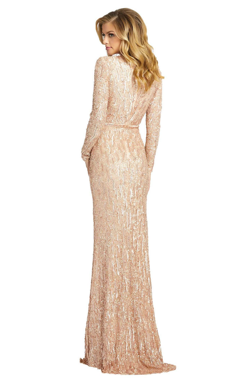 Mac Duggal 4975D Dress Rose Gold
