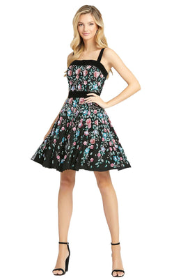Mac Duggal 4984D Dress Black Multi
