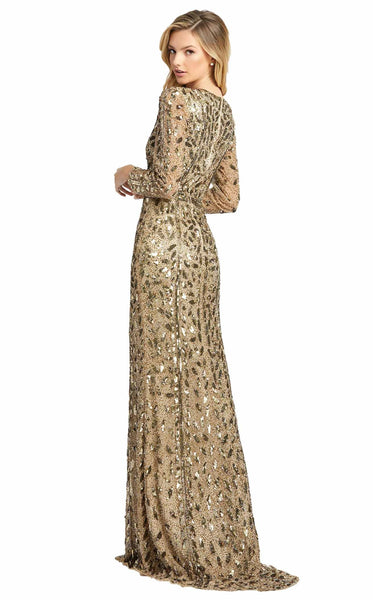Mac Duggal 5002D Dress Antique Gold