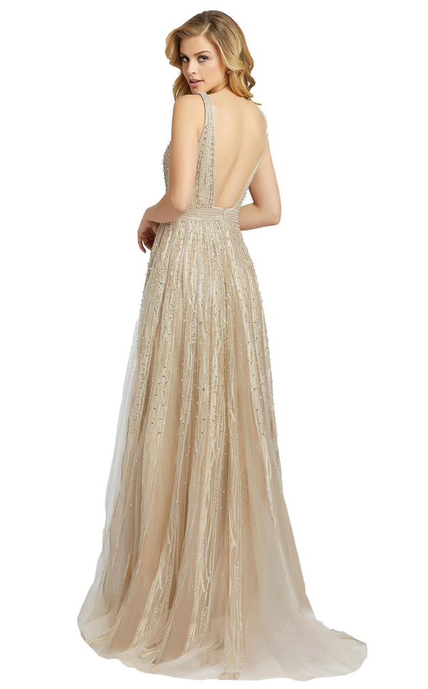 MacDuggal 50514D Dress Champagne