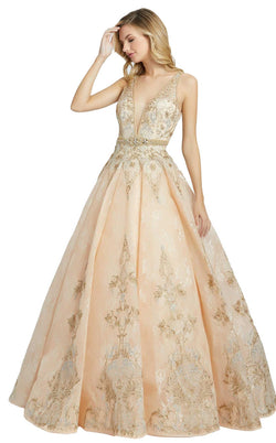 MacDuggal 50525D Dress Champagne