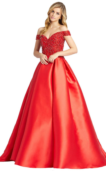 MacDuggal 62905D Dress Red