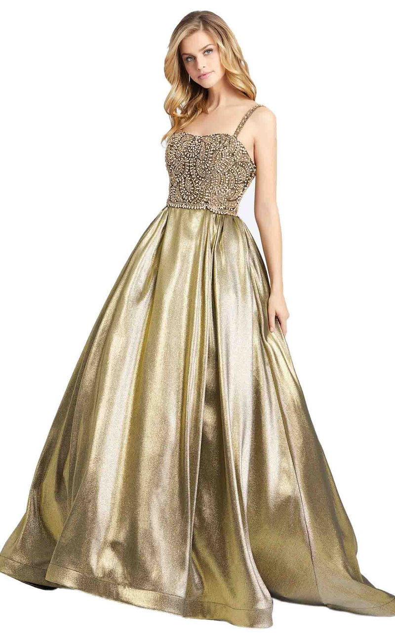 MacDuggal 66743D Dress Gold