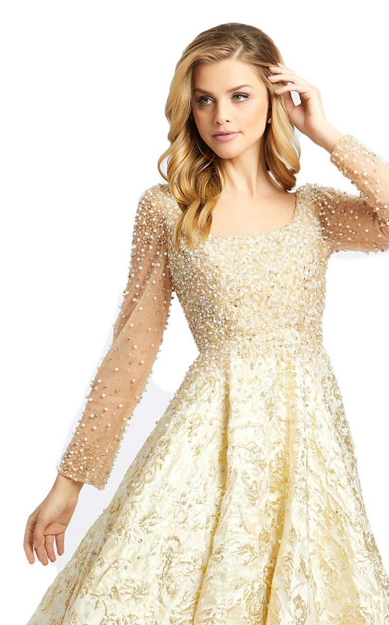 MacDuggal 66932D Dress Gold