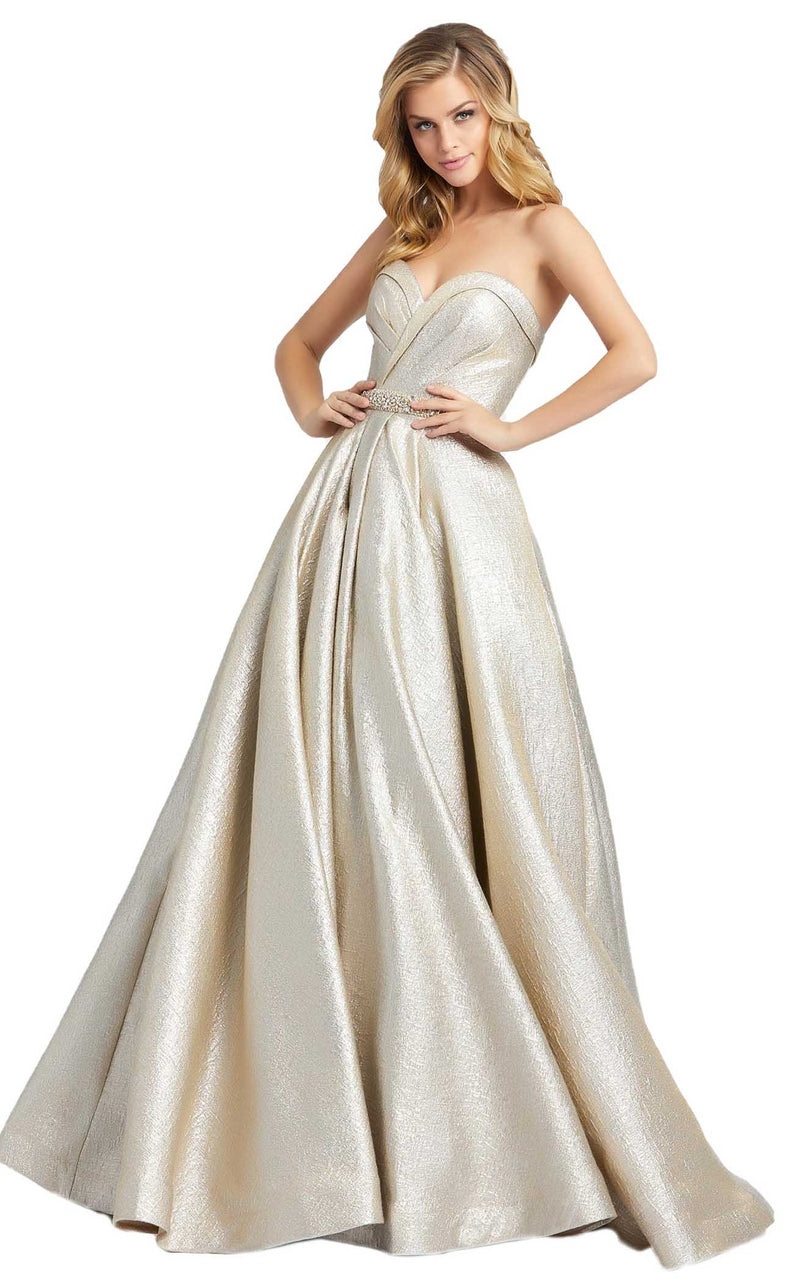 Mac Duggal 66978D Dress Oyster