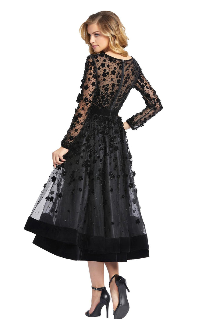 Mac Duggal 67007D Dress Black