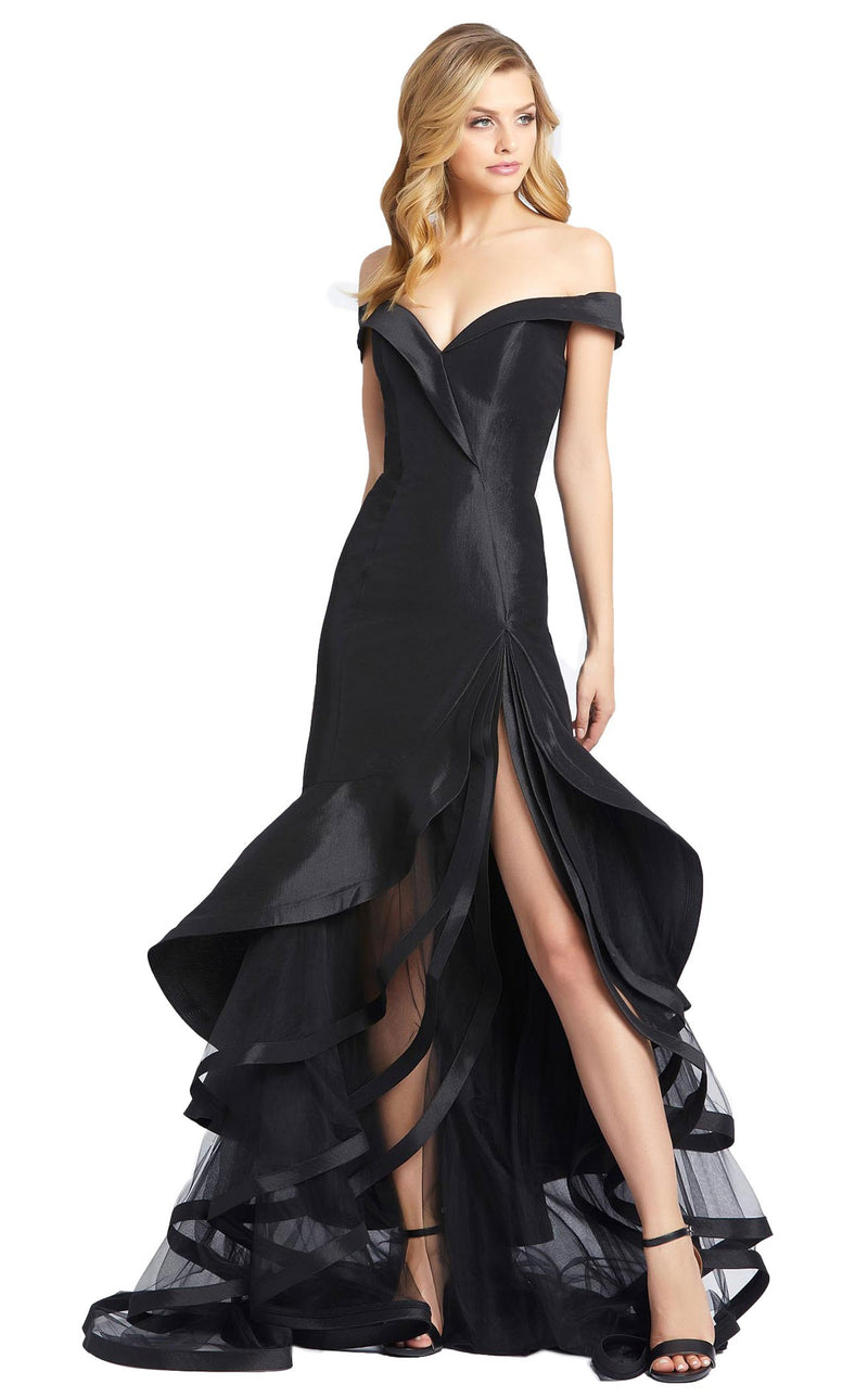 Mac Duggal 67068D Dress Black