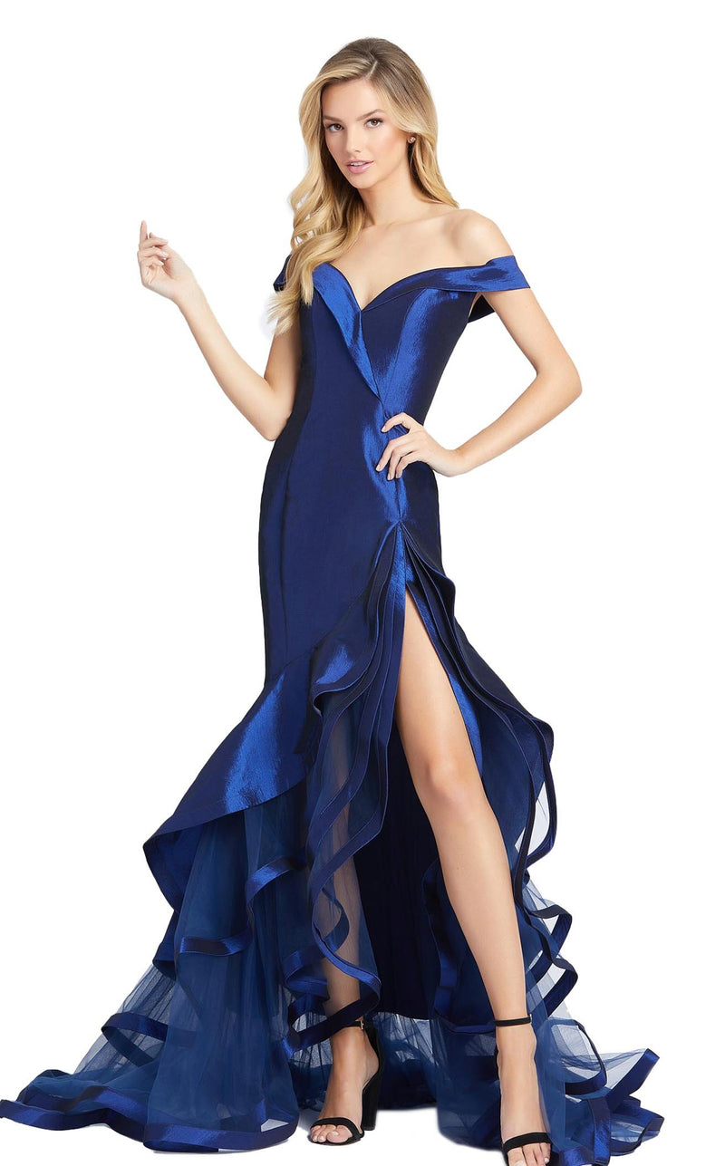 Mac Duggal 67068D Dress Midnight Blue