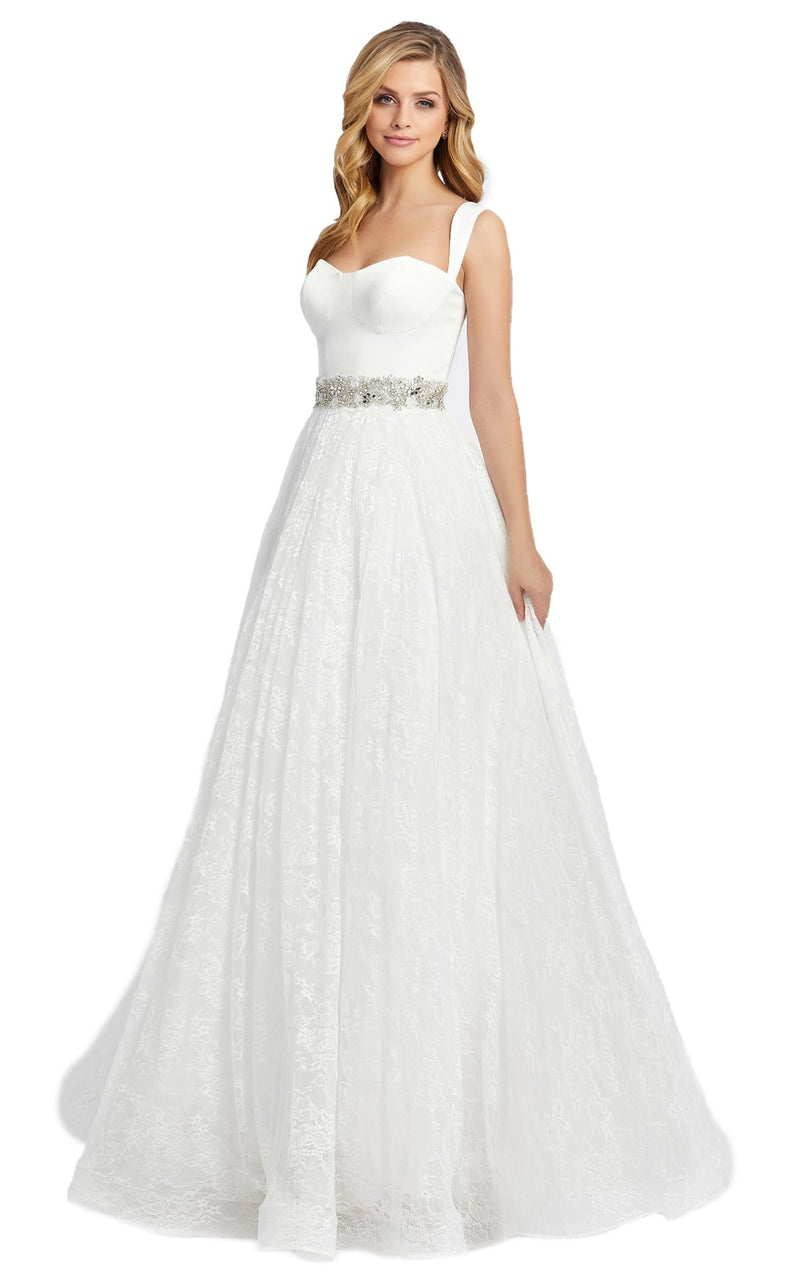 Mac Duggal 67150D Dress White